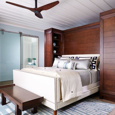 Contemporary Bedroom by Mary Washer Designs