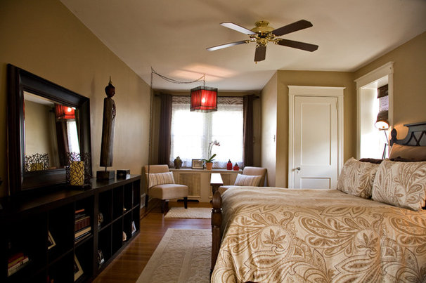 Asian Bedroom by Barrickman Design Group