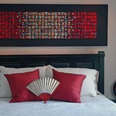 Asian Bedroom by lucinda carlstrom