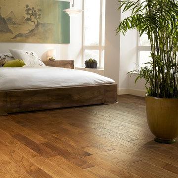 Asian Style -Brushed Suede - Sugarcane Hardwood Bedroom