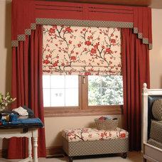Asian Bedroom by Celeste Jackson Interiors, Ltd.