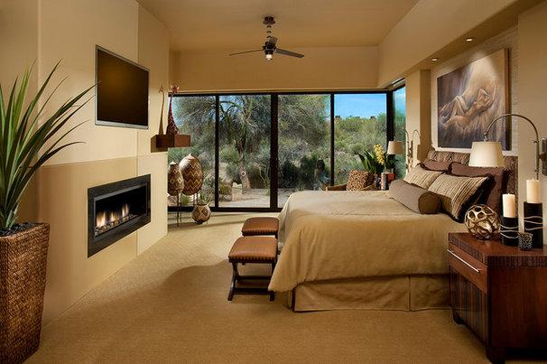 Southwestern Bedroom by AB Design Elements, LLC