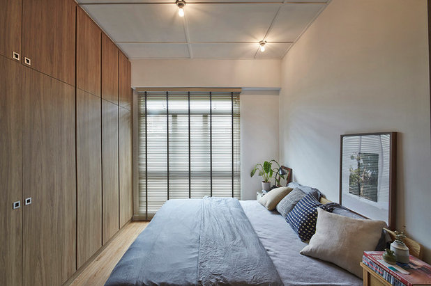 Contemporary Bedroom by Three-d Conceptwerke