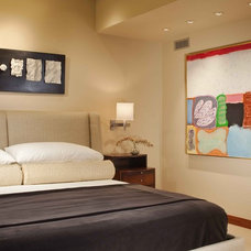 Contemporary Bedroom by Slifer Designs