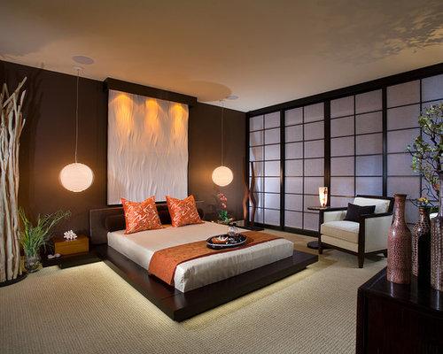 japanese bedroom houzz. Black Bedroom Furniture Sets. Home Design Ideas