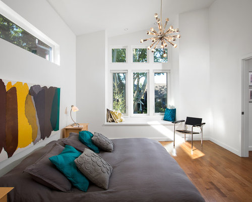 Beds without headboards houzz - Bed without headboard ideas ...