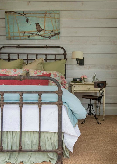 Farmhouse Bedroom by M. Barnes & Co