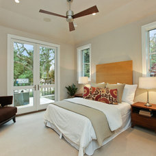 Transitional Bedroom by Clarum Homes