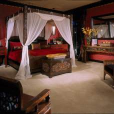 Asian Bedroom by Jim Weinberg Lifestyles
