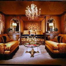 Mediterranean Bedroom by Jim Weinberg Lifestyles