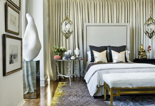 Eclectic Bedroom by Niki Papadopoulos
