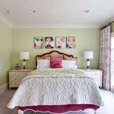 Bedroom by Fowler Interiors