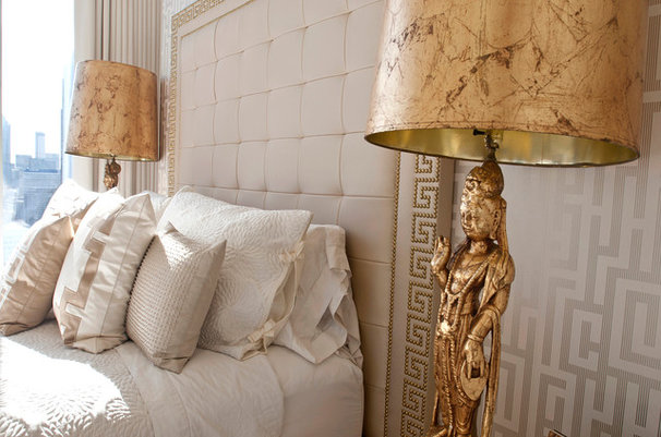 Asian Bedroom by Habachy Designs