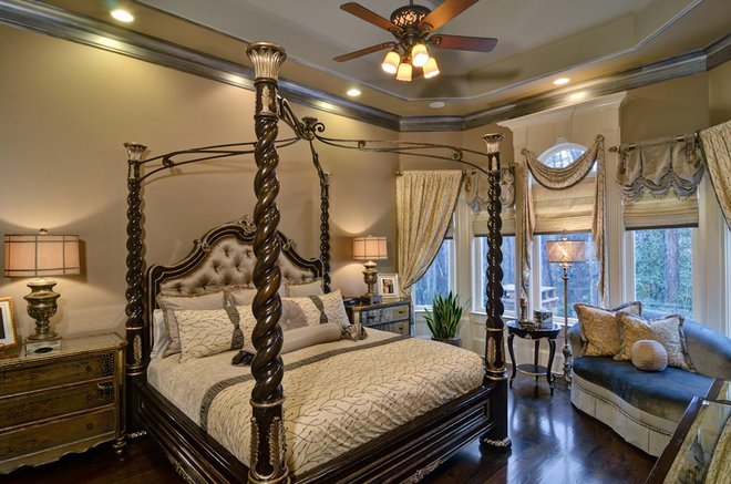 Traditional Bedroom by Home Expressions Interiors by Laura Bloom Inc.