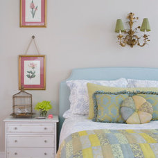 eclectic bedroom by Atlantic Archives, Inc.