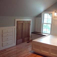 Craftsman Bedroom by R.M. Hale Construction