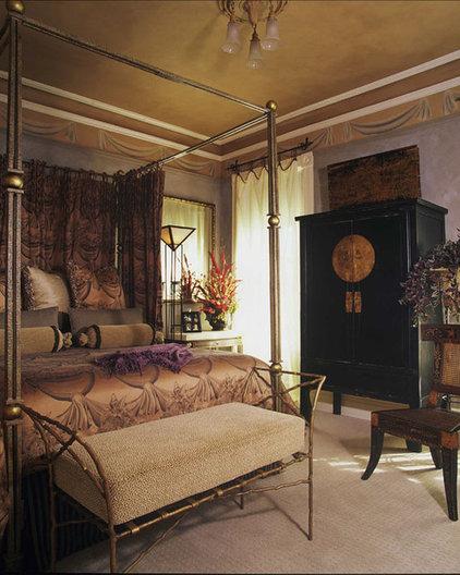 Asian Bedroom by Audrey Brandt Interiors