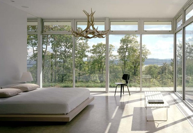 modern bedroom by Audrey Matlock Architects