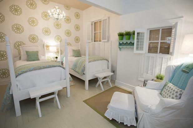 Farmhouse Bedroom by Van Wicklen Design