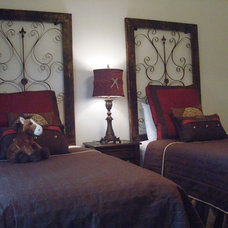 Traditional Bedroom by Michelle Williams - Inside Story Interiors