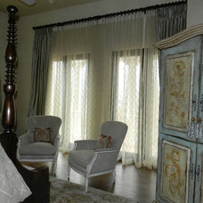Mediterranean Bedroom by Michelle Williams - Inside Story Interiors