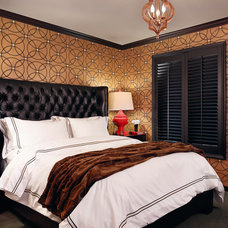 Mediterranean Bedroom by The Ancon Group