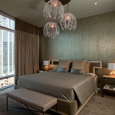 Contemporary Bedroom by Laura Britt Design