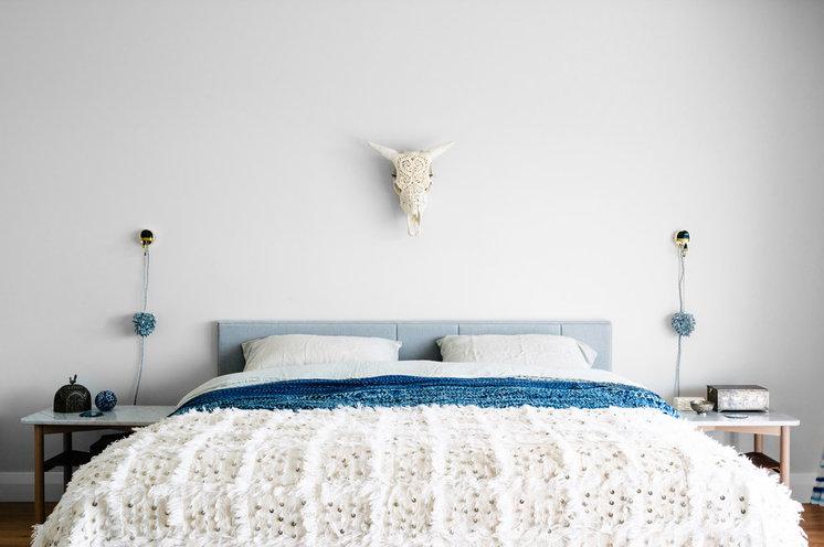 Современный Спальня by Kim Pearson Pty Ltd