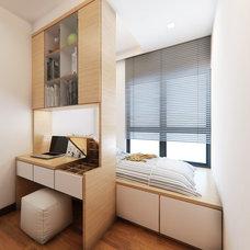 Modern Bedroom by Rezt N Relax Interior