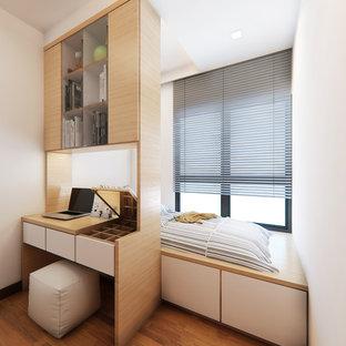 Idée de décoration pour une chambre minimaliste.
