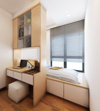 Moderne Soveværelse by De Bjorn Concept