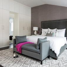 Contemporary Bedroom by Jodie Rosen Design