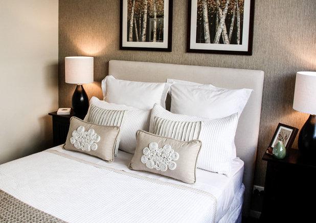 Beach Style Bedroom by Angela Steyn & Co Design