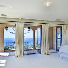 mediterranean bedroom by RM Homes