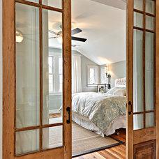 Transitional Bedroom by Avenue B Development