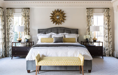 Room of the Day: Bringing Intimacy to a Big Master Bedroom
