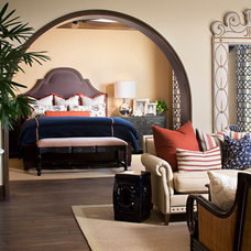 Mediterranean Bedroom by Style On a Shoestring