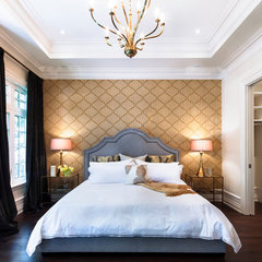 contemporary bedroom by Avissa Mojtahedi Architecture & Design