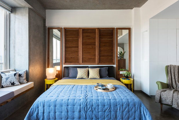 Industriel Chambre by The Crossboundaries
