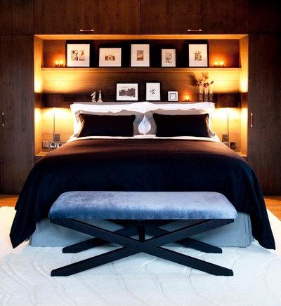 Contemporary Bedroom by Nicola O'Mara Interior Design