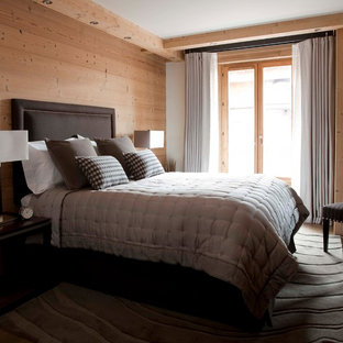Mountain style bedroom photo in Cornwall
