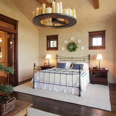Mediterranean Bedroom by SILVERTON CUSTOM HOMES