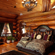 Rustic Bedroom by Passion Lighting