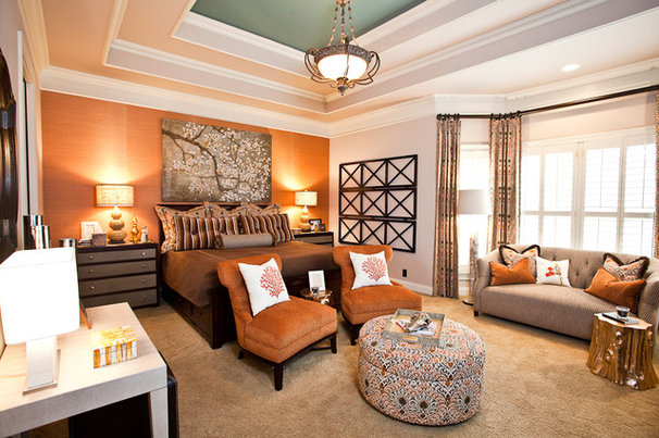 Eclectic Bedroom by Eric Ross Interiors, LLC