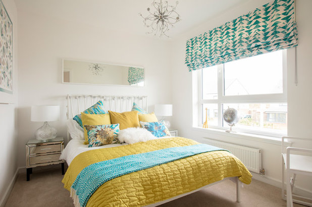 Eclectic Bedroom by Nick Callaghan Photography