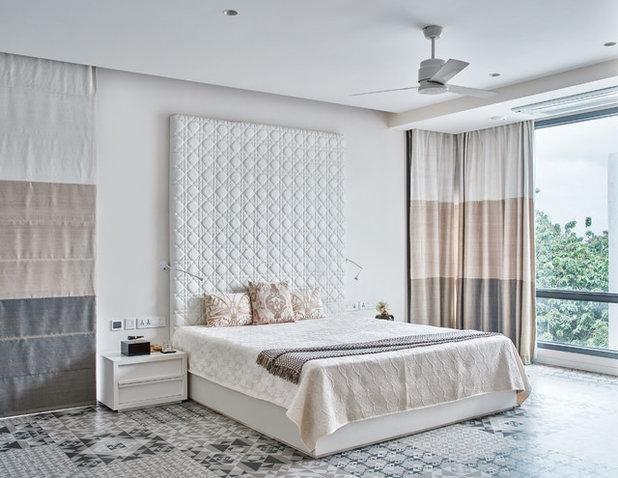 Contemporary Bedroom by Fadd Studio