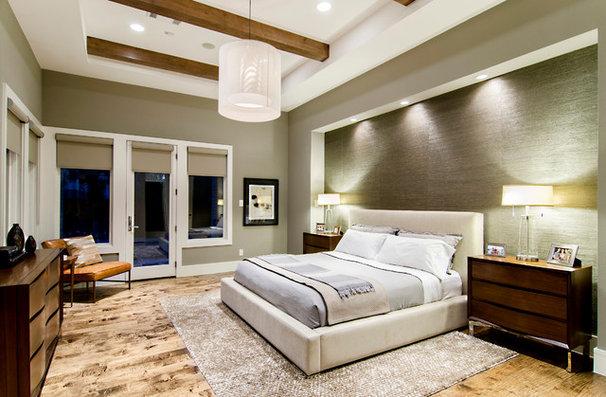 Contemporary Bedroom by John Lively & Associates