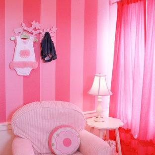 デンバーのトラディショナルスタイルのおしゃれな寝室のインテリア