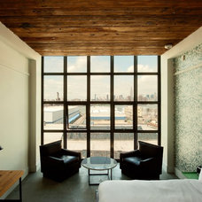 Eclectic Bedroom by Wythe Hotel