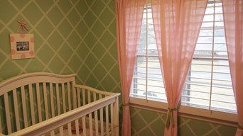 Baby Room with Custom Paint